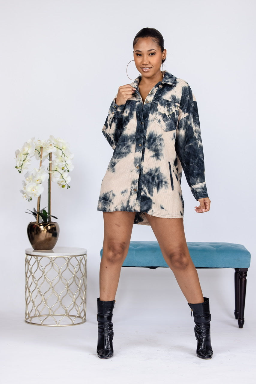 Show Some Legs Mini Dress - Taupe