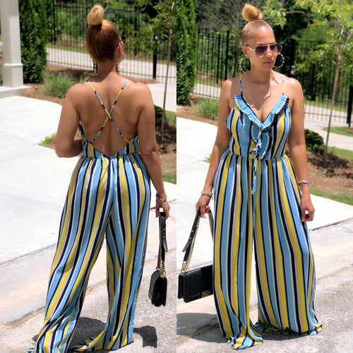 Leave It To Greece Jumpsuit