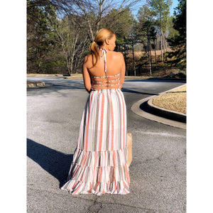 A Walk In The Park Maxi Dress
