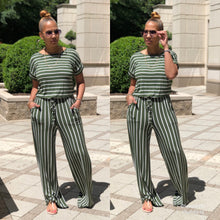 Load image into Gallery viewer, In Between These Stripes Jumpsuit