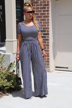 Load image into Gallery viewer, My Azul Stripe Pant Set