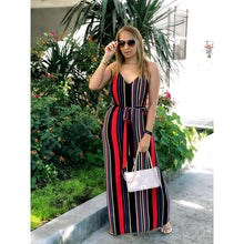Load image into Gallery viewer, All In These Stripes Maxi Dress
