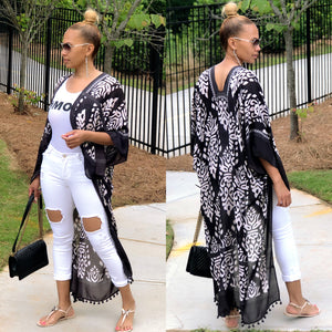 Aztec Vibe Long Duster