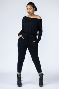 Midnight Lounge Jumpsuit