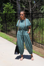 Load image into Gallery viewer, Teal Of Dreams Jumpsuit