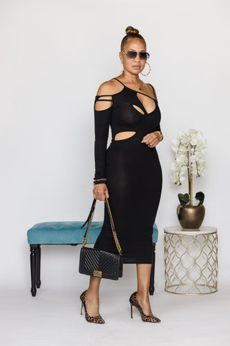 Are You Ready For This Black Dress - PRE ORDER