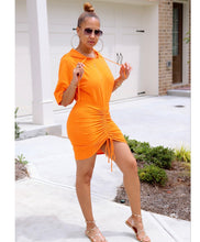 Load image into Gallery viewer, Orange Crush On Me Dress