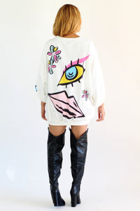 All Eyes One Me Dress