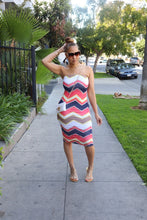Load image into Gallery viewer, The Chevron Tube Dress