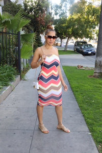 The Chevron Tube Dress