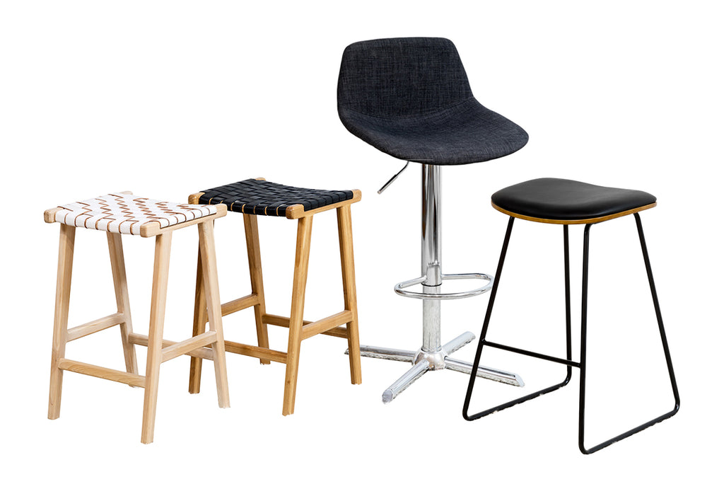 Bespoke Furniture Gallery Solid Timber Wood Upholstered Metal Stainless Steel Legs Barstools Bar Stools Perth WA
