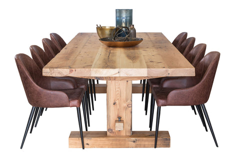 Recycled Baltic Refectory Dining Table