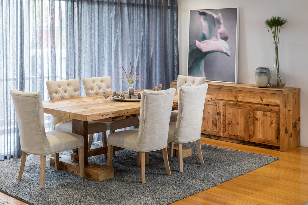 Vineyard Recycled Baltic Refectory Dining Table