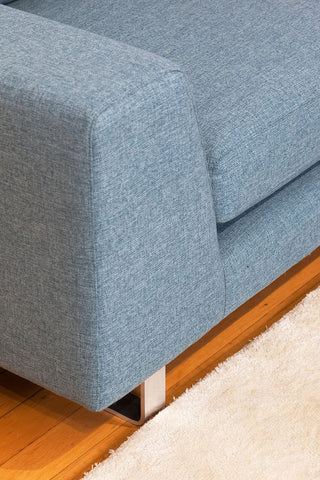 Colebatch Contemporary Custom Modular Fabric or Leather Sofa Detail