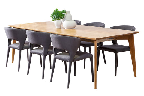 Dane Marri Timber Dining Table & Buffet