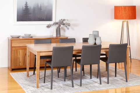 The Classic Solid Marri Dining Suite Table & Buffet - Nedlands, Perth, WA