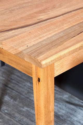 The Classic Solid Marri Dining Suite Table Timber Detail