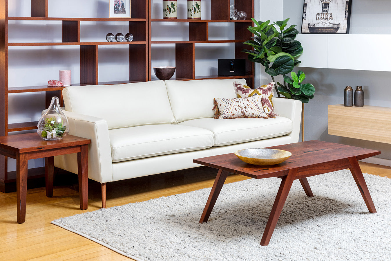 Willow Retro 50s Two Seater Sofa And Lounge Chair