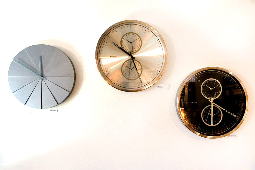 Contemporary Karlsson Wall Clocks Bespoke Furniture