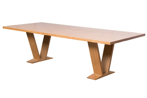 Lexcen WA Blackbutt locally made contemporary solid timber dining table