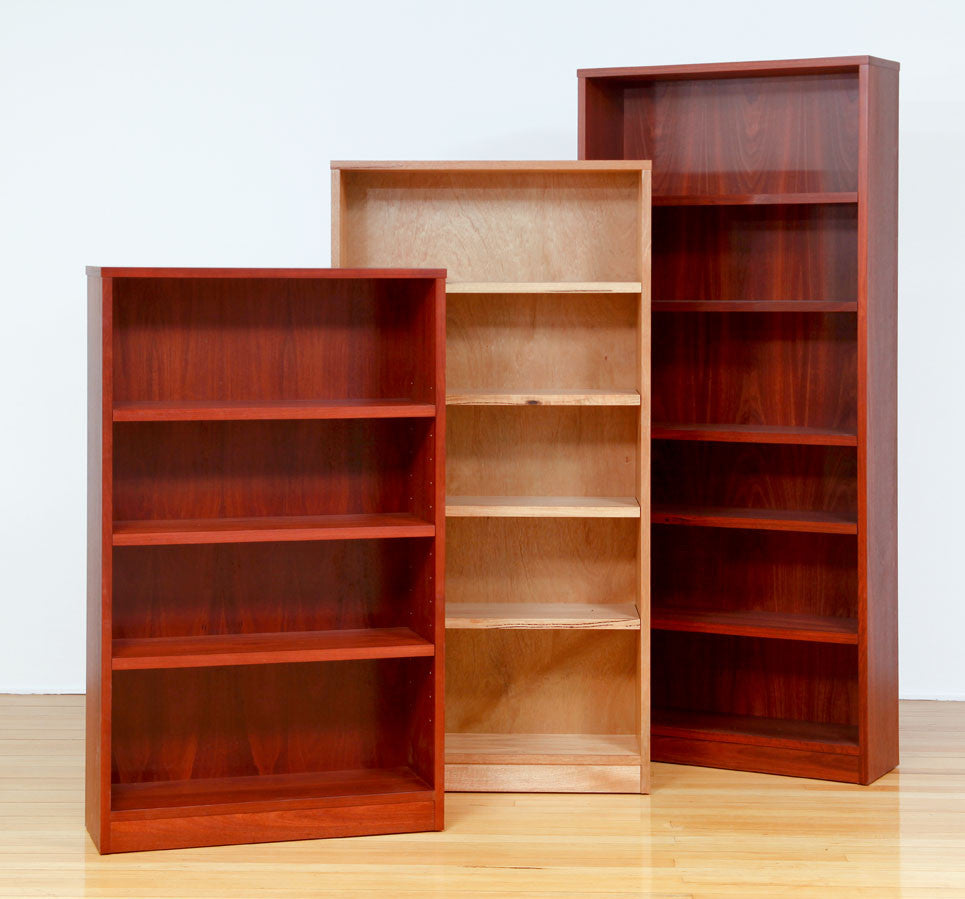 Concept Timber Bookcases Custom Marri & Jarrah, Made in WA, Perth