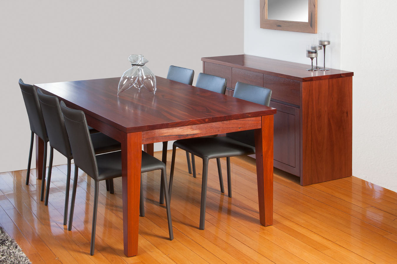 The Classic Solid Jarrah Dining Suite Table Buffet