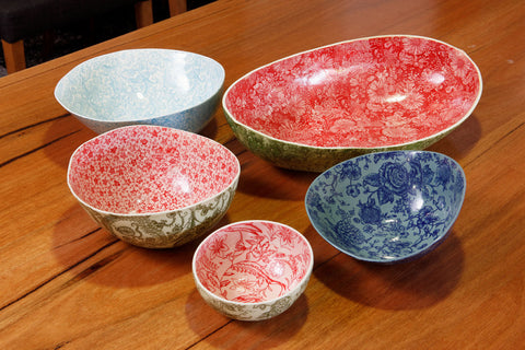 Samantha Robinson Hand Made Ceramic iconic watermelon bowls