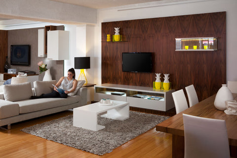 Custom Walnut Wall Units Nedlands Perth WA
