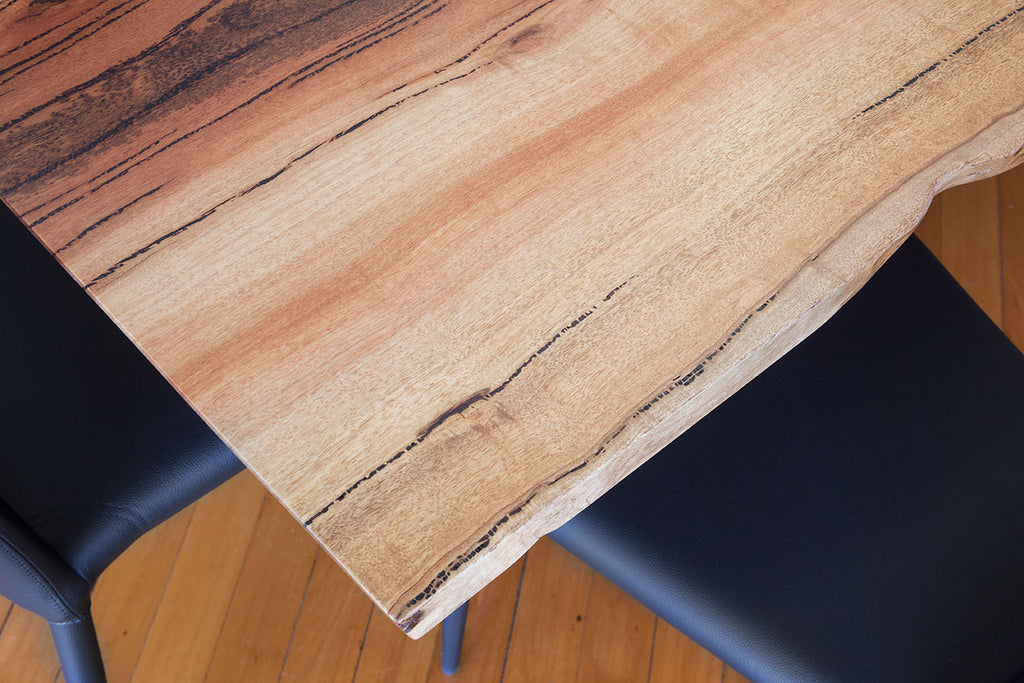 Natural Edge Marri Timber Top Dining Table, Nedlands, Perth, WA