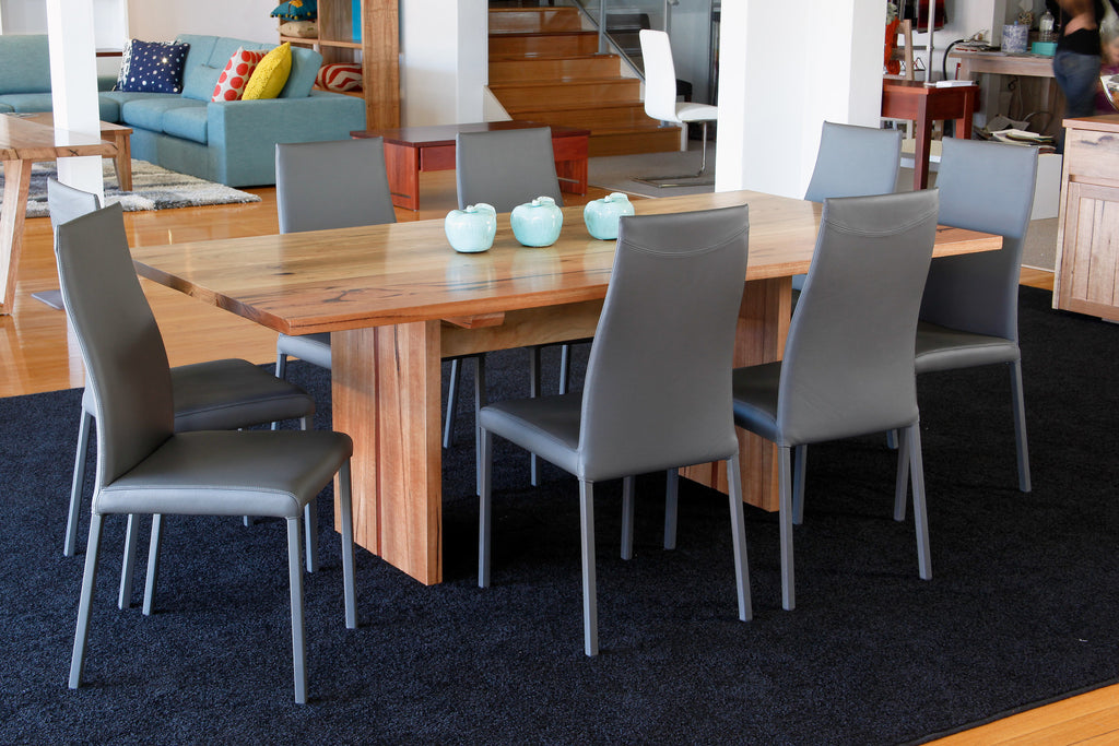 Dwellingup WA Made Designer Marri Table With Jarrah Stringer
