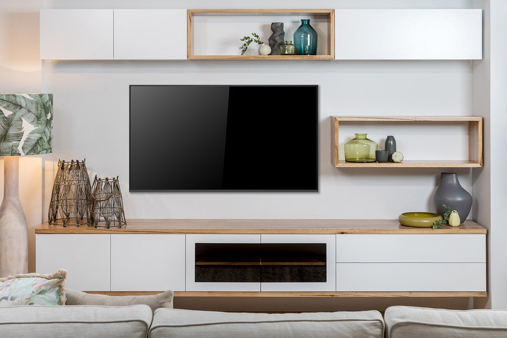 Mosman Floating Wall Unit in WA Made Marri White Lacquer