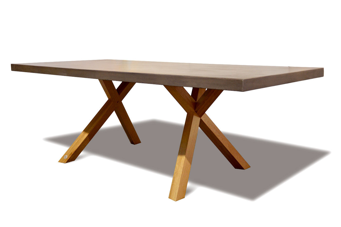 American Oak Dining Table American Oak Dining Table : Wichita American White Oak Dining Table Polished Concrete Top from www.hargapass.com size 1348 x 899 jpeg 51kB