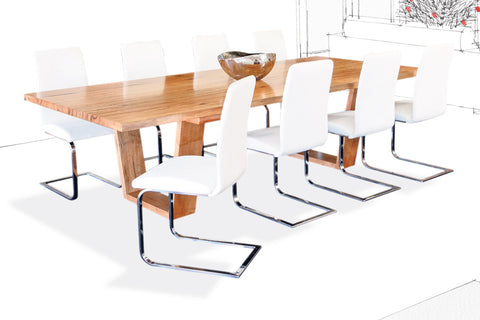 jarrah, marri & timber dining tables chairs, perth wa | bespoke