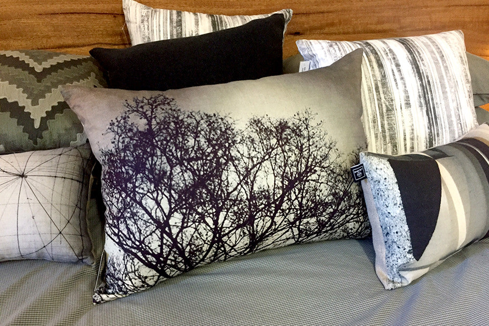Contemporary Graphic & Photographic Printed Throw Pillows