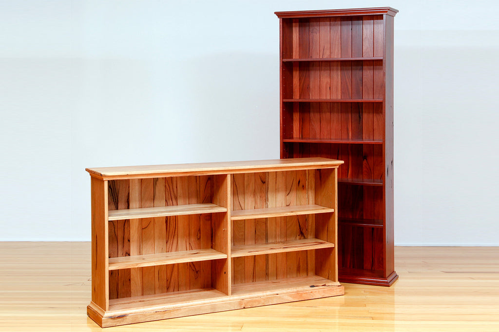 Denmark Solid Marri And Jarrah Custom Timber Cottage Style Bookcases, Nedlands, Perth, WA