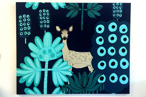 Marimekko Fabric Wall Art Bespoke Furniture Gallery Perth