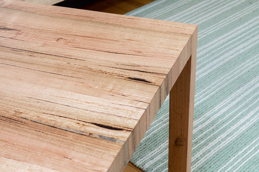Centro Range Contemporary Living Mountain Victorian Ash Solid Timber Small Dining Table Detail