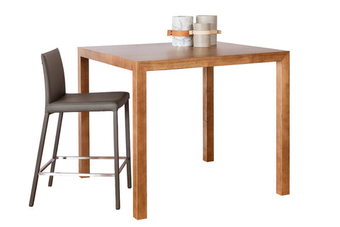 Centro Range Contemporary Living Square Café Solid Timber Mountain Victorian Ash Dining Table for Apartments