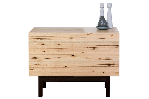 Centro Contemporary Living Two Door Mountain Victorian Vic Ash Solid Timber Buffet Simple and Elegant