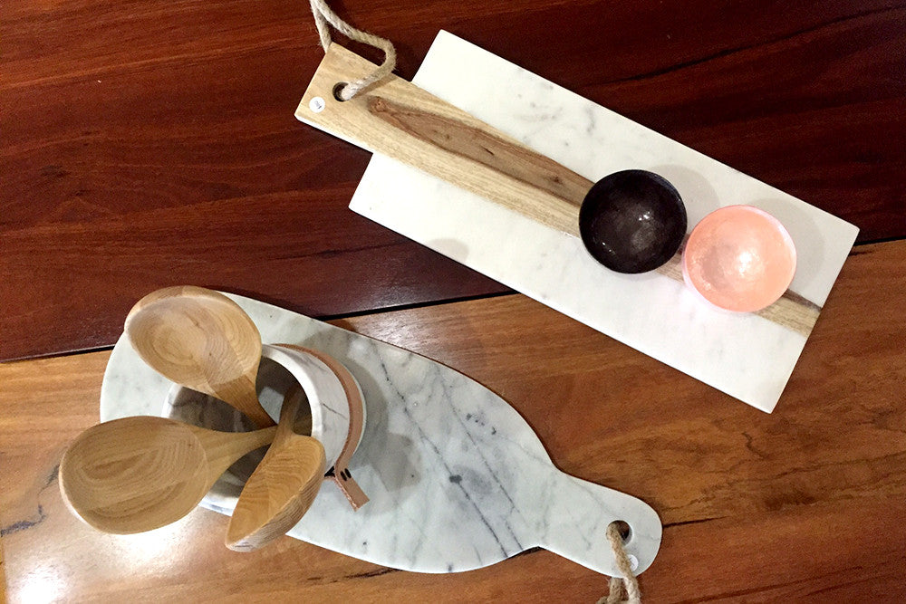 Rustic Wood & Marble Serving Boards, Trays & Platters - Bespoke Perth WA