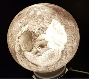 Lithophane Personalized Globe