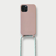 Load image into Gallery viewer, Sustainable Crossbody Phonecase (12 Series/ 11 Pro Max/ 7/ 8)- Rose & Flamingo