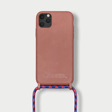 Load image into Gallery viewer, Sustainable Crossbody Phonecase ( iPhone 11 ) - Strawberry Cloud