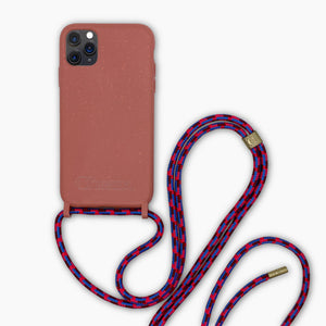 Sustainable Crossbody Phonecase ( iPhone 11 ) - Strawberry Cloud