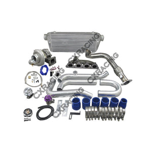 CXracing Turbo Kit for 1992 - 2000 Honda Civic with D15 , D16, SOHC Engine