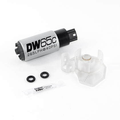 DeatschWerks 265 LPH Compact In-Tank Fuel Pump w/ Set Up Kit 08-15 Mitsu EVO X, 06-13 MazdaSpeed 3/6