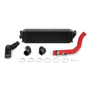 Mishimoto 2017+ Honda Civic Type R Intercooler Kit - Black Intercooler Red Pipes