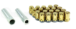 McGard Locking Lug Nut Kit Gold 12x1.5 - Universal