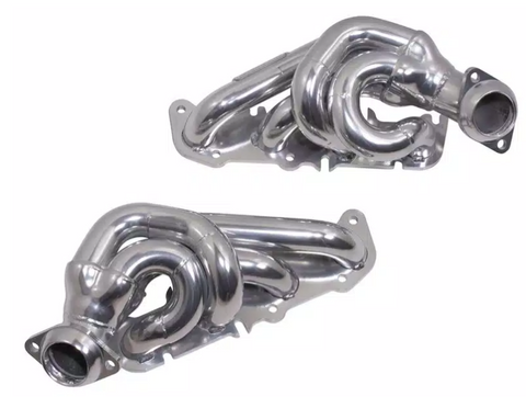 BBK 11-14 Ford F-150 Coyote 5.0 Shorty Tuned Length Exhaust Headers - 1-3/4in Chrome