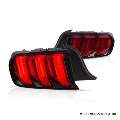 Vland LED Multi Mode Tail Lights for 2015-2019 Ford Mustang